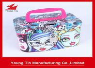 Cina Fancy Printing Money Saving Box, Tutup Berengsel Tangan Coin Piggy Bank Tin pabrik