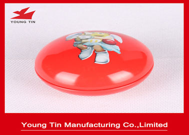 Kacang Berbentuk Logam Mini Tin Box CMYK Printed For Candy Sweets Packaging