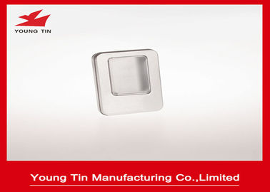 Tinplate Logam Blank Mini Tin Box Dengan Clear PVC / PET Window On Cover YT1376