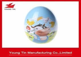 Easter Holiday Gift Packaging Egg Box, Custom Printed Easter Egg Cake Tin